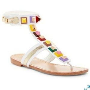 Studded sandals by Catherine Malandrino